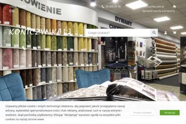 Koniczynka Sp. z o.o. Dywany, wykładziny - Montaż wykładzin Włocławek
