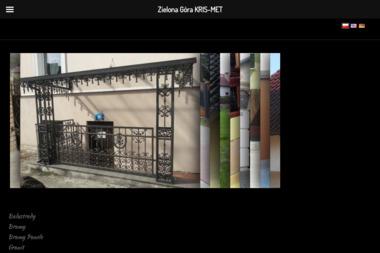 KRIS-MET Kowalstwo Artystyczne - Ogrodzenia Zielona Góra