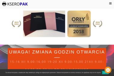 Fhu Kseropak. Ksero,wydruki - Wizytówki Kraków