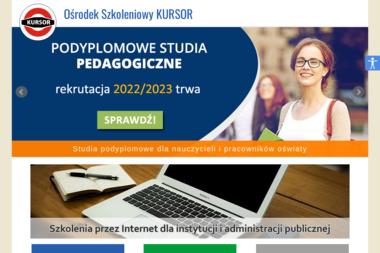 Ośrodek Szkolenia, Dokształcania i Doskonalenia Kadr Kursor - Szkolenia Biznesowe Lublin