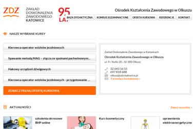 Centrum Kształcenia Zawodowego w Olkuszu Zakładu Doskonalenia Zawodowego w Katowicach - Kurs niemieckiego Olkusz