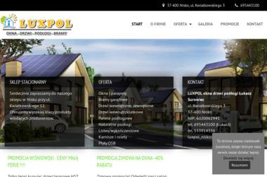LUXPOL - Okna Aluminiowe Nisko