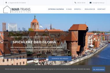 Mar-Trans Usługi remontowo-budowlane - Usługi Ciesielskie Gdańsk