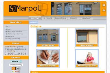 Marpol. Marzena Sadowska - Okna z PCV Gorzów Wielkopolski
