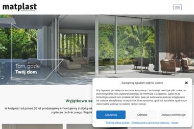 Matplast - Głuszyca. Biuro terenowe - Okna Głuszyca