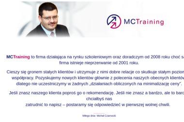 MCTraining Firma szkoleniowa - Szkolenia Dofinansowane z UE Siedliska