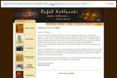 Metal-Art Pracownia Metaloplastyki Rafał Kotlarski - Projektowanie wnętrz Bolesławiec