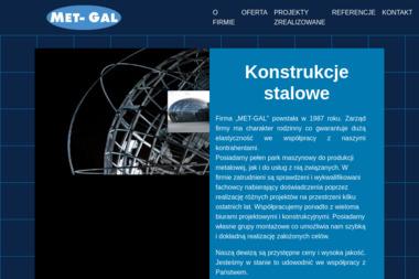 Met-Gal. Witold Jasinski - Wykonanie Konstrukcji Stalowej Piaseczno