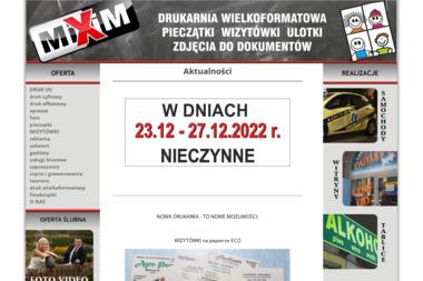 Mixim Barbara Miśkiewicz, Marek Mitka s.c. - Drukarnie etykiet Kraków