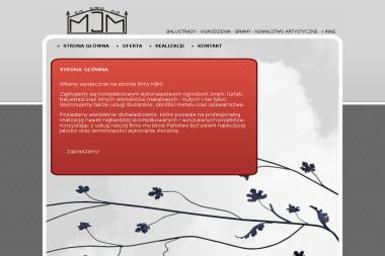 MJM. Balustrady, ogrodzenia kute - Schody Wewnętrzne Miasteczko Śląskie