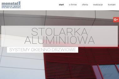 Monstal-Wrona. Produkcja i montaż stolarki aluminiowej - Okna aluminiowe Rybarzowice