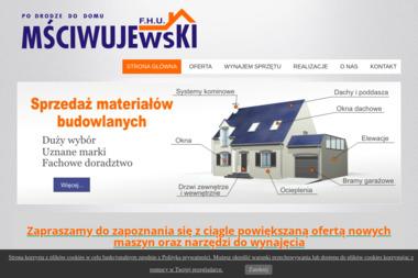 F.H.U. MŚCIJWUJEWSKI - Sprzedaż Okien Aluminiowych Łomża