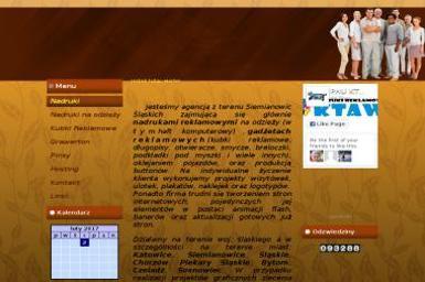 KTAW. Odzież reklamowa, nadruki reklamowe - Projekt Graficzny Siemianowice Śląskie
