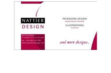 Nattier Design. Alicja Młokosiewicz - Opakowania Łódź