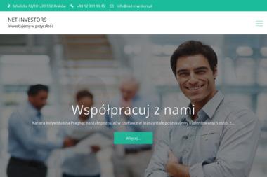 Net-Investors Group. Usługi Internetowe. Marketing internetowy, pozycjonowanie stron www - Linki sponsorowane, banery Kraków