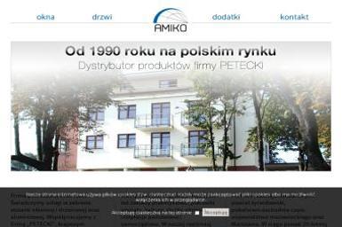 Handel Produkcja Usługi Amiko. Teresa Kilar - Okna drewniane Żyrardów