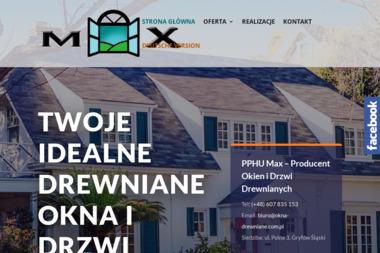 PPHU Max - Okna aluminiowe Gryfów Śląski