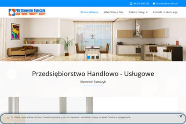 Przedsiębiorstwo Handlowo-Usługowe Sławomir Tomczyk - Okna drewniane Nowy Dwór Mazowiecki