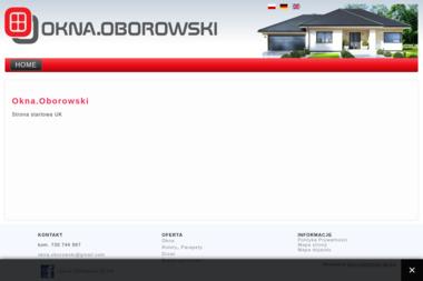 Okna.Oborowski - Okna aluminiowe Kościelnik