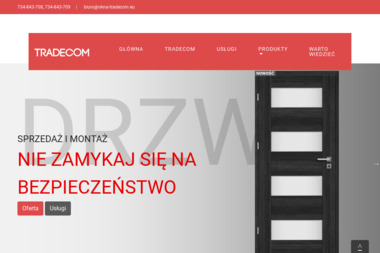Tradeco Zaleski Paweł - Stolarka Aluminiowa Izabelów