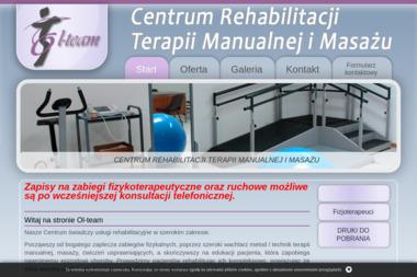 Katarzyna Olek Ol Team Centrum Rehabilitacji Terapii Manualnej i Masażu - Fizjoterapeuta Bydgoszcz