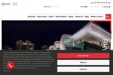 Salon Sprzedaży Okien Pagen - Okna PCV Nowy Targ