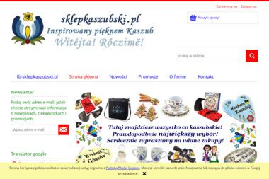PHU Kaszub. Sklep internetowy, pamiątki kaszubskie, rękodzieło kaszubskie - Kosze prezentowe Luzino