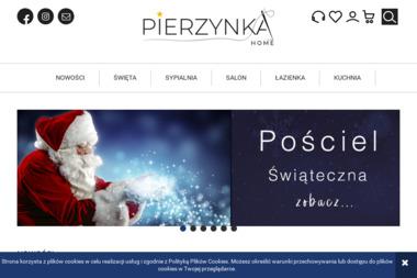 Pierzynka FHP Agnieszka Ćwik - Szycie Firan Brzesko