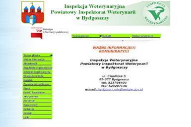 Powiatowy Inspektorat Weterynarii w Bydgoszczy - Weterynarz Bydgoszcz