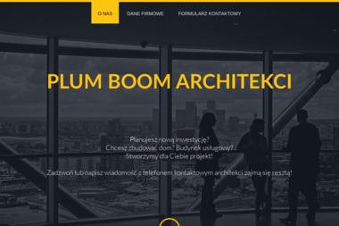 plum boom. Architekci - Projektowanie Zieleni Publicznej Wrocław