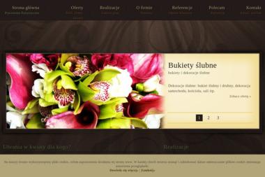 Pracownia Florystyczna Katarzyna Jurkowska - Dekorator wnętrz Kraków