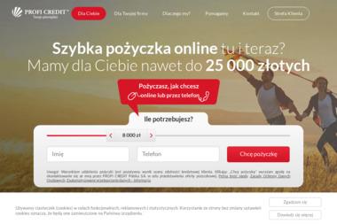 ProfiCredit - Pożyczka Gotówkowa Szczecin