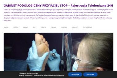 Gabinet Specjalistycznej Pielęgnacji Stóp PrzyjacielStóp. Gabinet kosmetyczny, gabinet zabiegowy - Salon kosmetyczny Wrocław