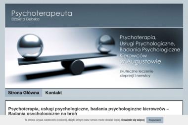 Psychoterapia, usługi psychologiczne - Elżbieta Dębska - Psycholog Augustów