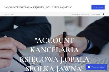 Biuro Księgowe Account - Venture capital Wrocław