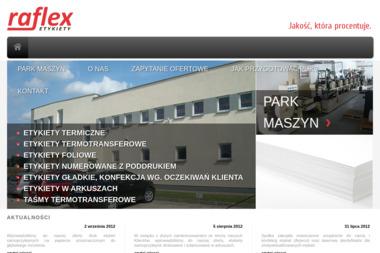 Raflex Etykiety Sp. z o.o. - Drukarnie etykiet Nagradowice
