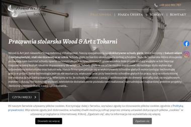 Wood&Art - Schody Drewniane Na Beton Tokarnia