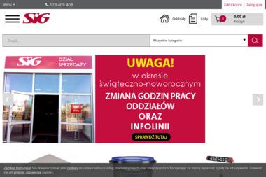 SIG Sp. z o.o., Oddział Piaseczno. Dystrybucja budowlana, Systemy i Materiały Budowlane - Skład budowlany Piaseczno