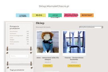 Mamawchacie.pl ręcznie robione zabawki - Joanna Homoncik-Iwanicka - Architekt wnętrz Krzeszów