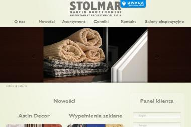 US Stolmar Szafy wnękowe, drzwi przesuwane, drzwi przesuwne, zabudowa wnęk, profile aluminiowe - Meble na wymiar Michałowice