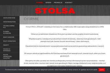FPHU Stolsa - Okna drewniane Ostrowiec Świętokrzyski