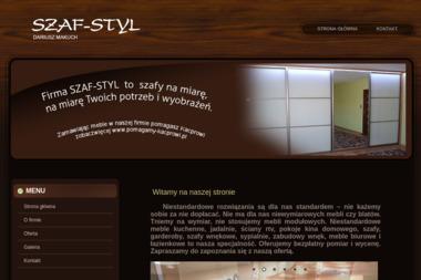 Szaf Styl Dariusz Makuch - Okna PCV Żelechów