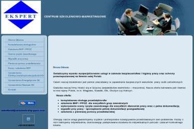Szkolenia bhp, ppoż. Centrum Szkoleniowo-Marketingowe Ekspert - Szkolenia Giżycko