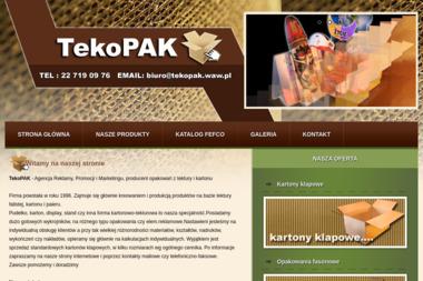 Agencja Reklamy, Promocji i Marketingu Tekopak - Opakowania Kosmetyczne Karczew