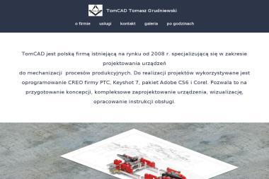 TomCAD. Tomasz Grudniewski - Firma Marketingowa Otwock