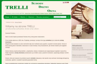 """""""TRELLI"""" SCHODY, DRZWI, OKNA - Schody Metalowe Czerwieńsk"""