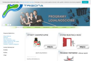 Trigona. Drukarki etykiet, terminale mobilne, etykiety, elektroniczna księga wejść i wyjść - Drukarnie etykiet Kraków