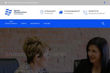Agencja Ubezpieczeń Ilona Skwarka - Ubezpieczenie firmy Łódź