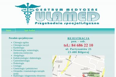 Centrum Medyczne ULAMED - Gabinet Psychologiczny Biłgoraj