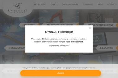 Uniwersytet O艣wiatowy - Szkolenia techniczne Pozna艅
